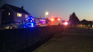 Eleven people taken to hospital after after collision at football ground