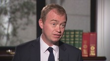 Tim Farron discusses local election prospects with Paul Brand