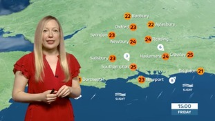 Philippa has the latest weather for the west