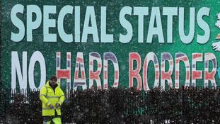 Irish border main stumbling block in Brexit talks