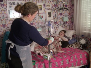 Antonia's mother Victoria has to nurse her bedridden daughter who's been robbed of nearly all her bodily functions