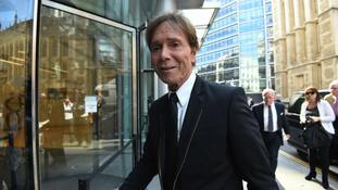 Reporter: I had understanding with detective over Sir Cliff Richard raid