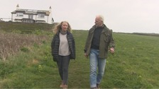 Homeless couple walk length of South West Coast path