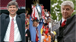 A season-by-season look at Arsene Wenger's time at Arsenal