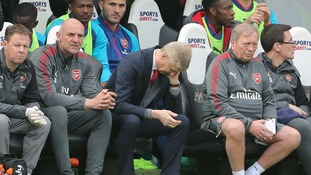 Arsene Wenger's final season in charge has seen disappointments in the Premier League campaign.
