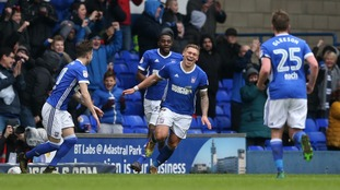 Ipswich Town are currently just above rivals Norwich City.