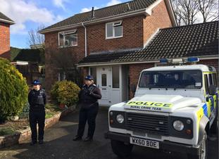 The house of Sergei Skripal has been the site of intensive investigation since the attack.