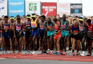 The 2016 Virgin Money London Marathon.