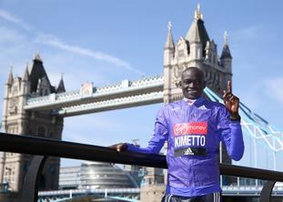 The marathon attracts the world's finest athletes.