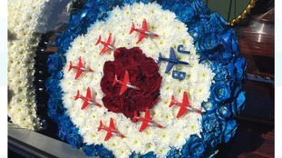 Service of Remembrance for Red Arrows engineer