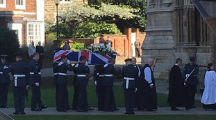 Service at Lincoln Cathedral ahead of private funeral