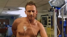 'Inspirational' man with feeding tube to run London Marathon