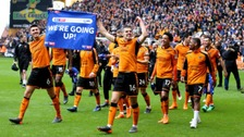 Wolves lap of honour after securing promotion