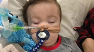 23-month old Alfie Evans can not Alfie cannot breathe, or eat, or drink without medical treatment.