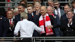 Arsenal chief executive Ivan Gazidis pays tribute to Wenger