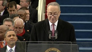 The Master of Ceremonies Senator Charles E. Schumer
