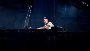 Avicii live at the Summerburst open air festival in his native Sweden.