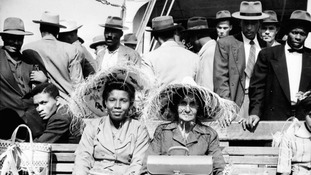 The Windrush generation arrived in the UK after World War II.