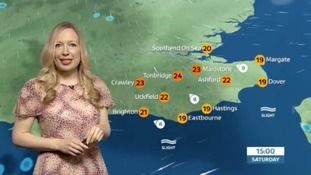 Philippa has the weekend weather for the east