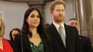 Prince Harry and Meghan Markle attend Invictus Games reception