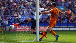 Diogo Jota scored Wolves' third