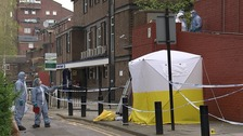 Man stabbed to death in north London