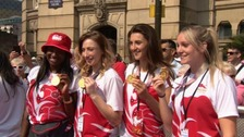 Birmingham hosts a homecoming party for Commonwealth Games winners