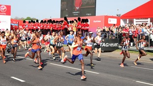Sir Mo Farah breaks British record time for London Marathon with 3rd place finish