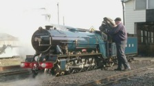 A big day for a little engine: miniature steam train re-enters service