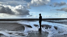 Low tide at Crosby STEVE MULVILLE