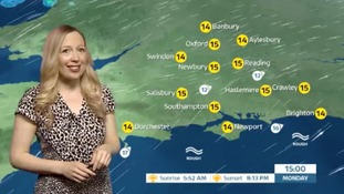 Monday's weather for the west with Philippa