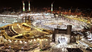 The Britons were reported to be travelling to the holy city of Mecca.