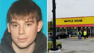Travis Reinking is wanted in connected with a mass shooting at a Waffle House in Nashville.