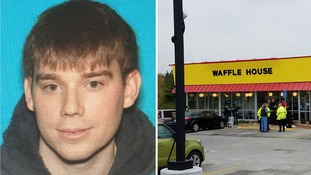 Hunt for 'naked' gunman after four killed in Nashville Waffle House shooting