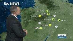 West Midlands Weather: Dry, later rain