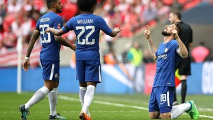 Chelsea set up FA Cup final showdown with United after beating Southampton