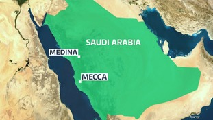 Al Khalas is a settlement roughly 30 miles north of the holy site of Mecca.
