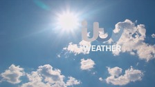 Mainly sunny with highs of 14 degrees