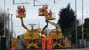 Five weeks of rail disruption start today