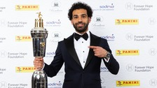 Liverpool's Salah crowned PFA Player of The Year