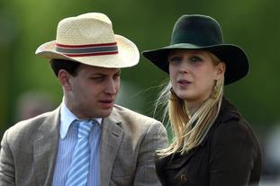 Lady Gabriella Windsor, with her brother Lord Frederick Windsor.