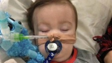 Alfie Evans: parents await ruling from European Court of Human Rights