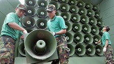 South Korea presses mute on anti-Pyongyang propaganda