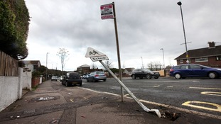 Ballysillan Road crash