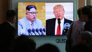Mr Trump tweeted Pyongyang agreed to