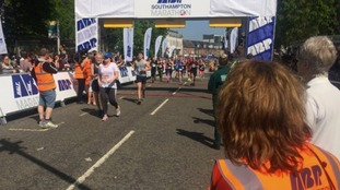Southampton's marathon runners beat the heat