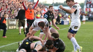 Ulster beat Glasgow to claim Pro14 play-off spot