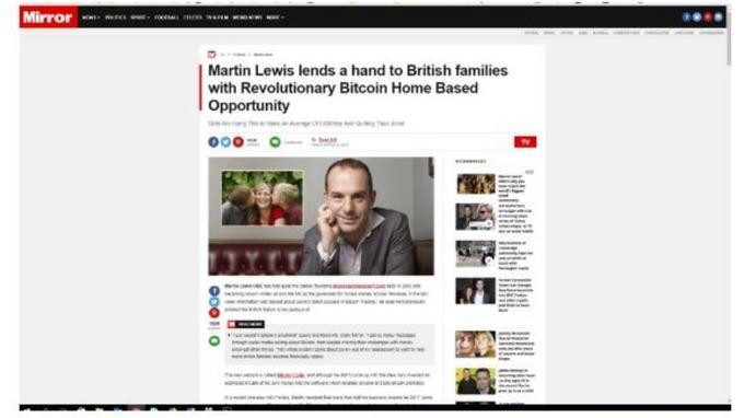 Martin lewis to start legal case against facebook over scam moneysavingexpert ccuart Gallery