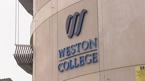 Weston college has won a £10 million government grant.