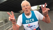 Oldest marathon runner completes course for 32nd time